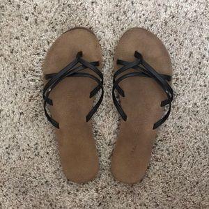 Volcom- Strappy Flip Flops
